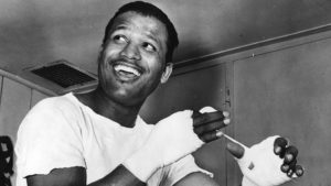 Sugar Ray Robinson. Photo courtesy of Boxing News Online.