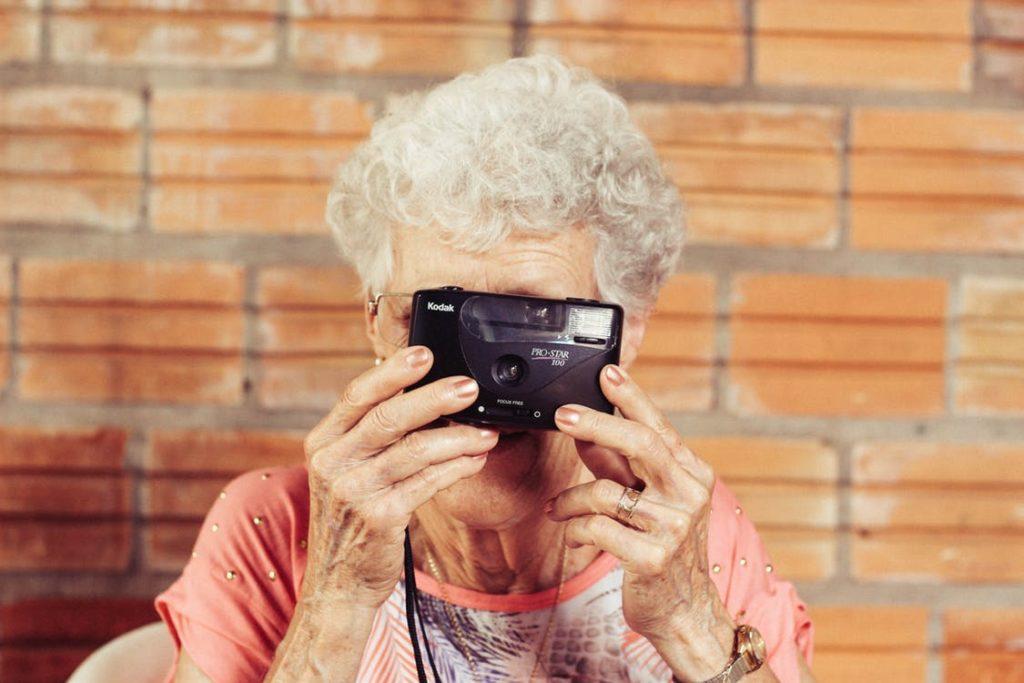 Age vs Dementia Cute Old lady